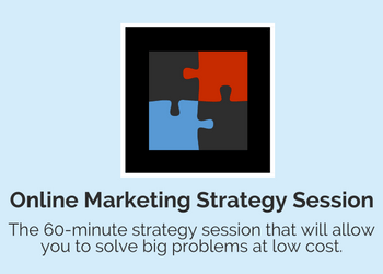 online marketing strategy session