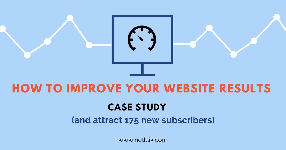 how to improve your website results