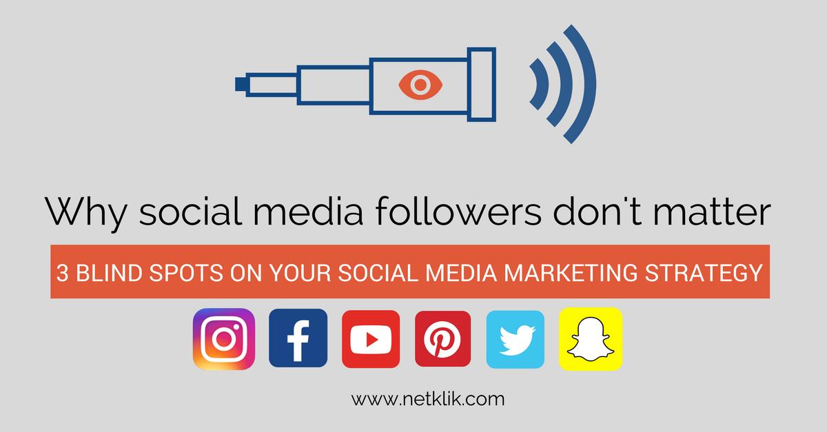 why social media followers don't matter