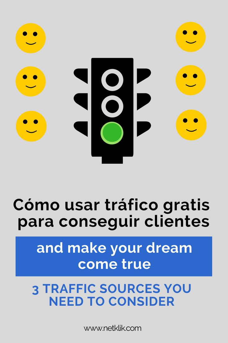 How to use free traffic to attract clients
