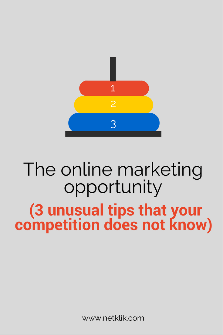 online marketing opportunity