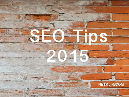Search Engine Optimization Tips 2015