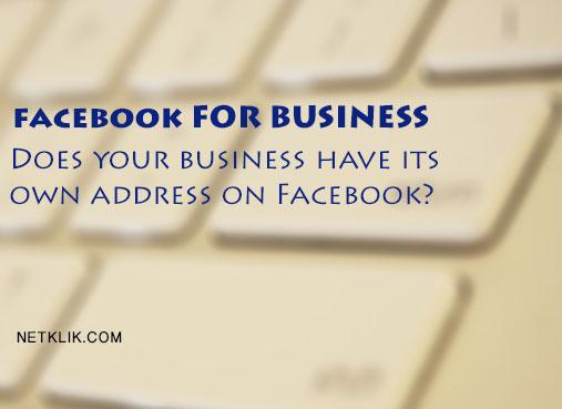 facebook for business website url