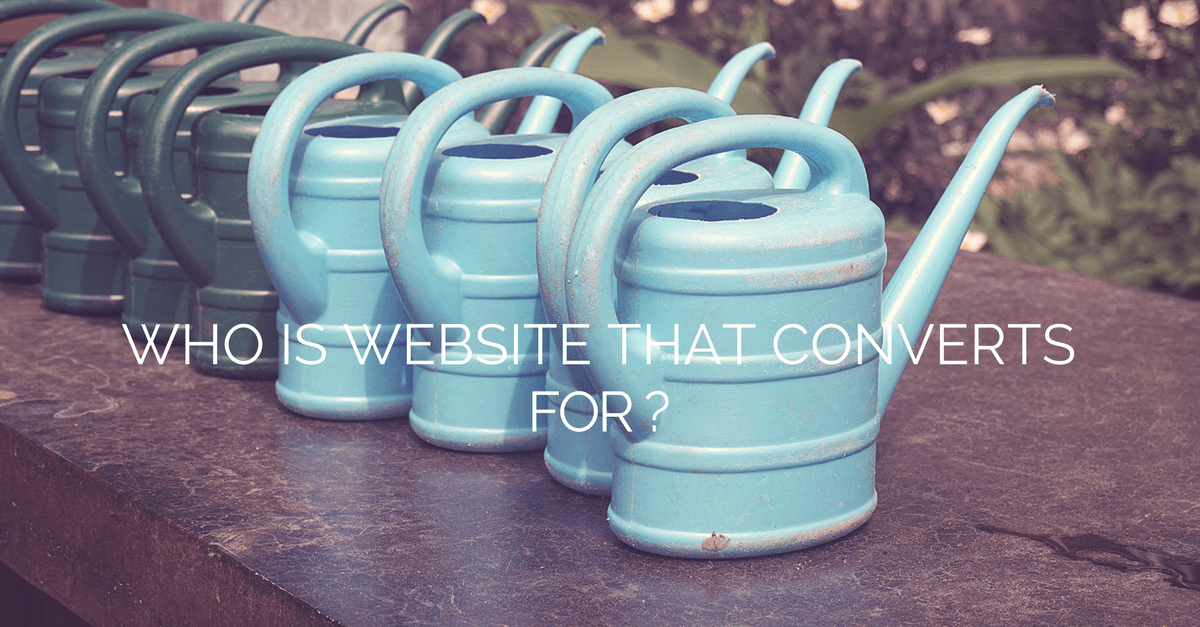 website that converts