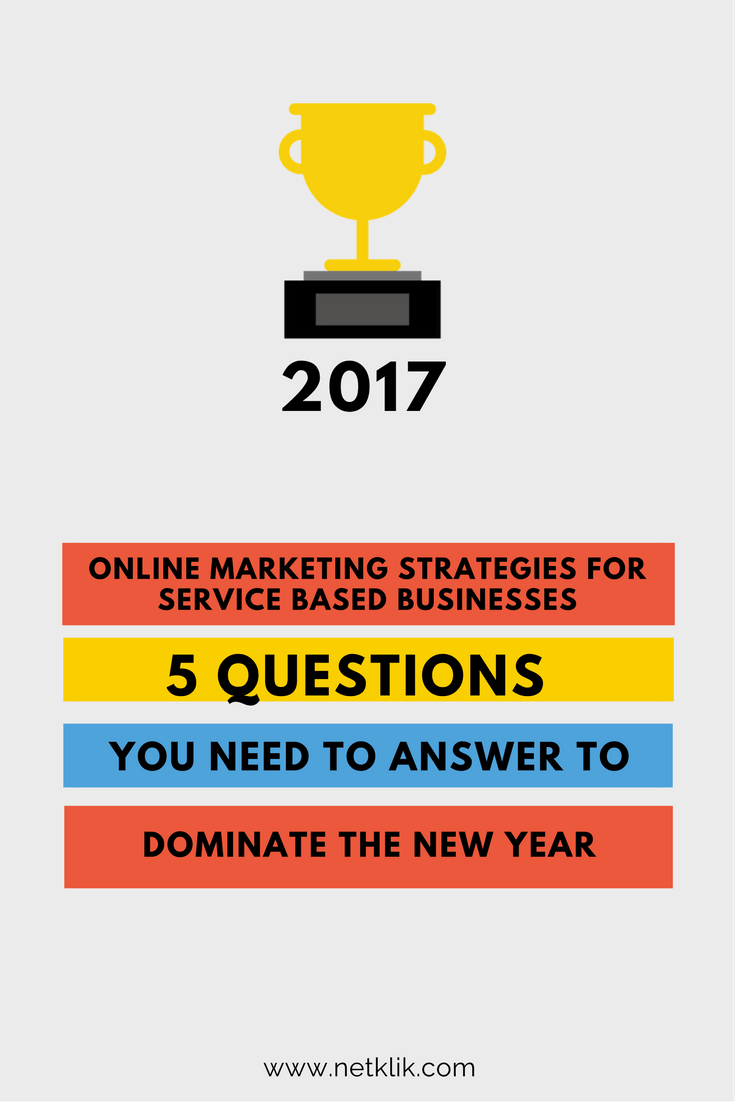 online marketing strategies for service based businesses