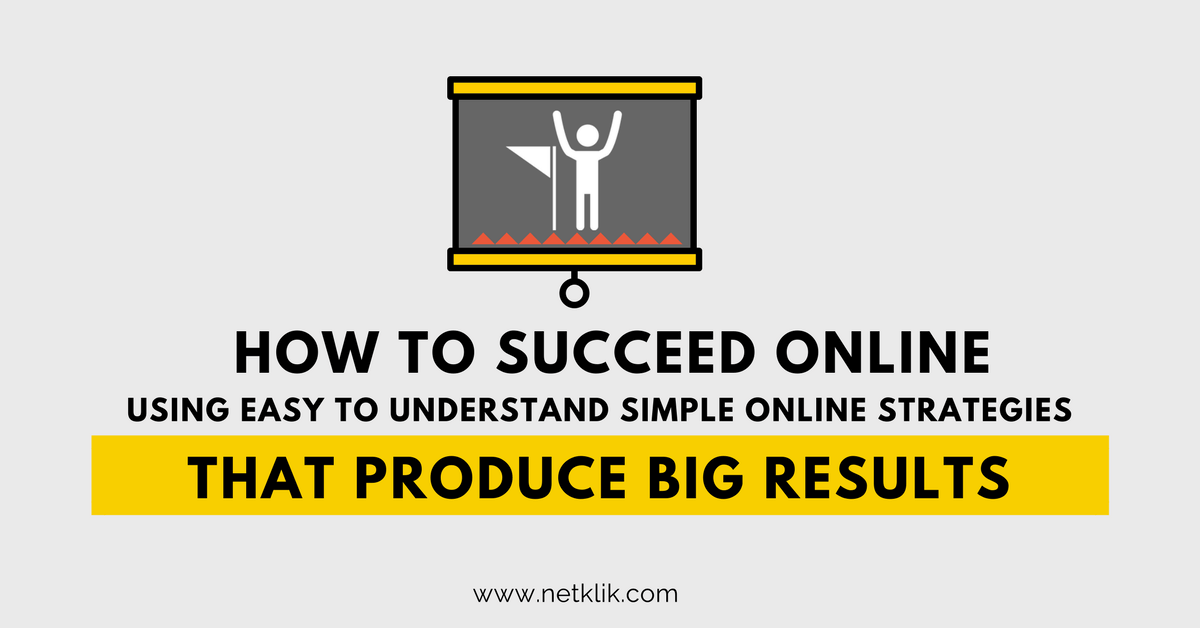 how to succeed in online business