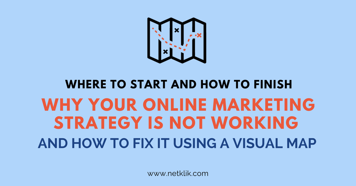 Why your online marketing strategy is not working