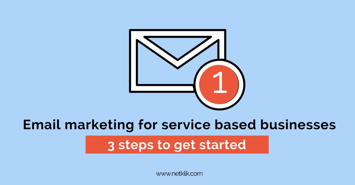 email marketing for service based businesses