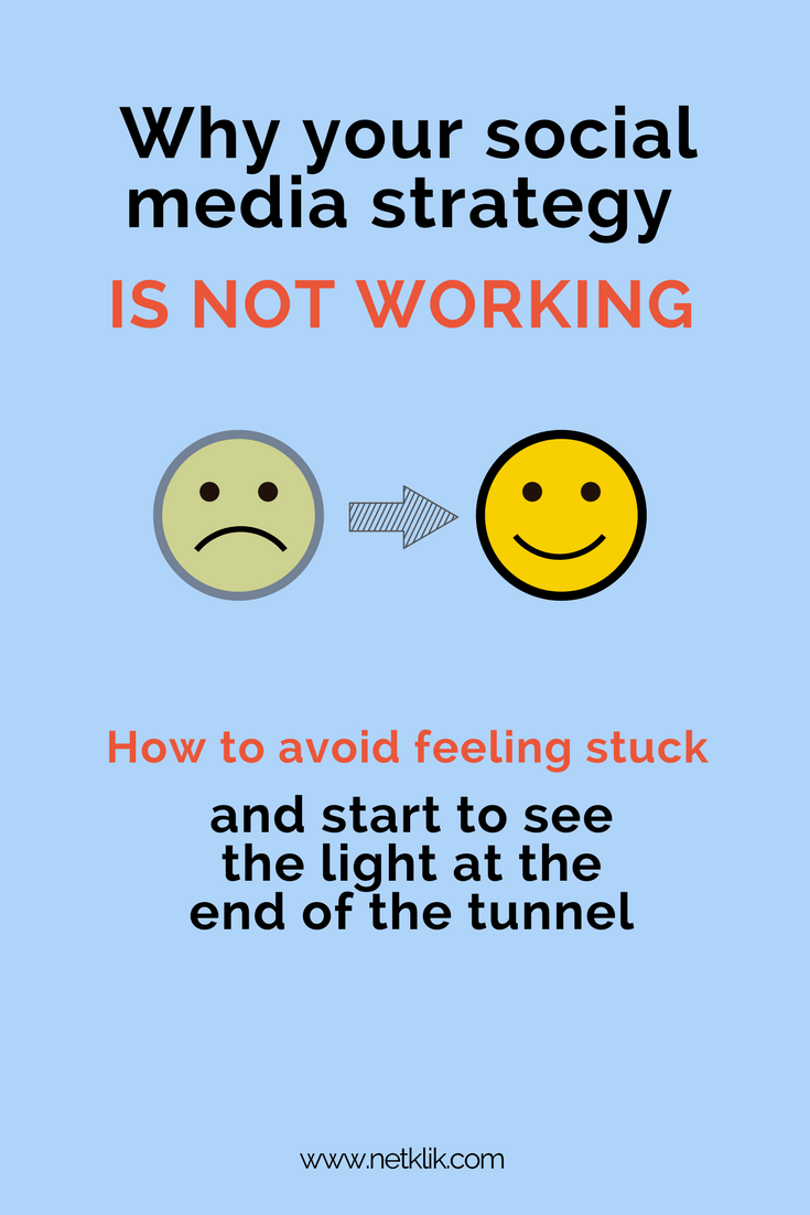 why is your social media strategy is not working