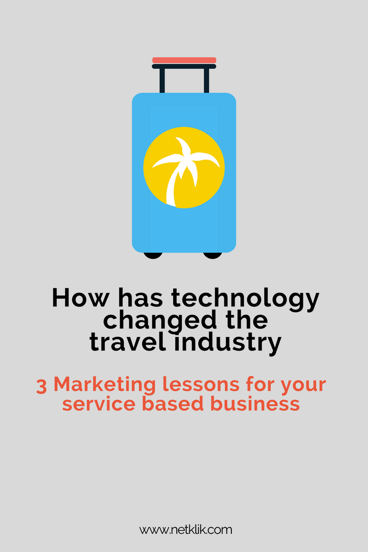 How has technology changed the travel industry